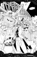 IDWCoverContest R2 DrArkeville by khaamar