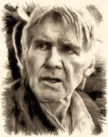 Han Solo - The Force awakens - by Doveri