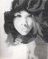 unfinished Portrait by VTech7