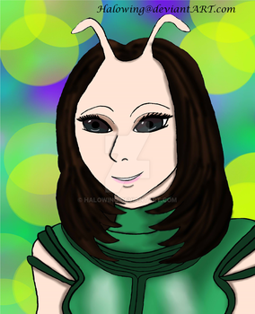 Marvel Guardians of the Galaxy Series: Mantis by Halowing