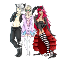 Porcelain-Dolly-Face (Trio) by xNekorux