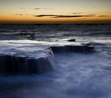 Maroubra Steps Sunrise III by HarryZero