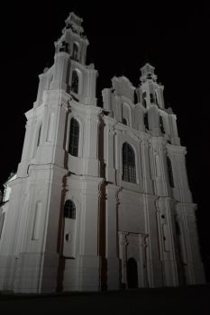 Sophia Cathedral at night by Tanchick