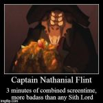 Captain Flint Demotivational by Edward-Smee