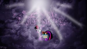 Wallpaper Twilight Sparkle by youki506