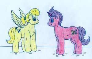Pony Cindy and Jimmy by Jose-Ramiro