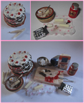 Black Forest Cake Prep Board by sonickingscrewdriver