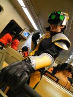 Yi Takes the Subway by Jake-Kelton