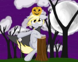 Derpy Hooves Halloween by Conmankez