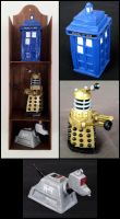 Dr. Who Miniature Set by Cyle