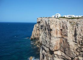living on the edge cala morell by LeopoldXXX