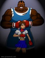 Balrog - Sakura - SF by mhunt