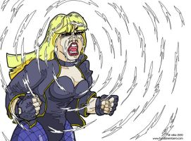 Black Canary by DrMike2000