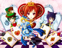Alice In Wonderland by Eranthe