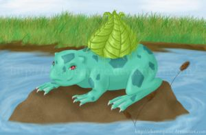No. 001 Bulbasaur by Chamequine