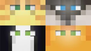 Minecraft cat wallpapers by averagejoeftw