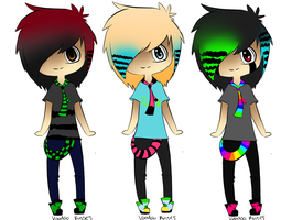 scene boy adopts ALL GONE! by VoodooKisses