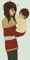Hetalia - Iberia and lil Spain by Karma-Maple