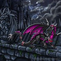 Feuriah's Risk by DragonCid