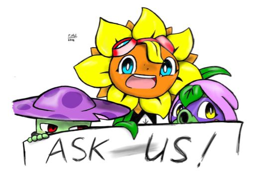 PvZ heroes - ask the OT3 and me by shadowgirl211
