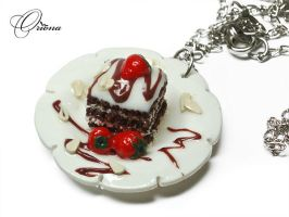 Sweet on a plate by OrionaJewelry