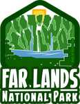 . : FarLands National Park Badge : . by AxlRosie