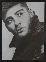 Zayn Malik GQ drawing by ItsDaniDee