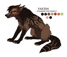 Vayzin Character Sheet V.2 by HailDawn