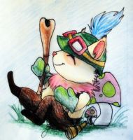 Teemo by WYNTERFANG
