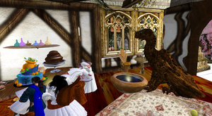 SL: The Dragon Who Came to Tea by CuriousCreatures