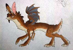 Drakalope- open offer to adopt by MooshuFezrit