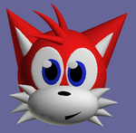 Red in 3D by cazzyx3