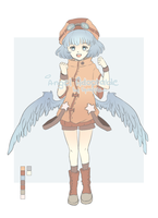 Winged Adoptable (Closed) by shoppurin
