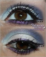 Dior Extreme Blue Eye Make Up by Talasia85