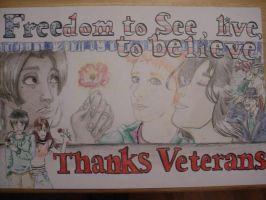 Thanks Veterans by BooBooKachoo