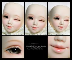 Face-up : UNOA Winking Lusis by tr3is