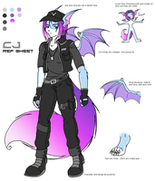CJ Ref Sheet by Robo-Shark