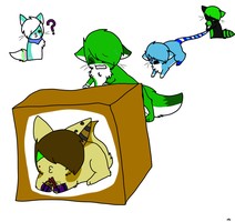 Goin to japan in mai box XD by Radioactive-Demon