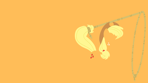Applejack Minimalist Wallpaper by Kitana-Coldfire