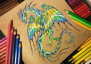 South sea dragon [Ebay auction] by AlviaAlcedo