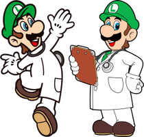 More Dr Luigi artwork by vladictivo