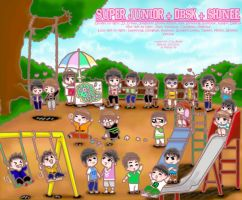super junior DBSK shinee by chaBomb21