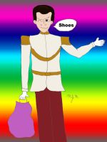 Sassy Prince Charming, Shoes by MadDeppBurtonHatter