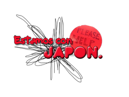 Estamos con Japon Png by LarahLoveyou
