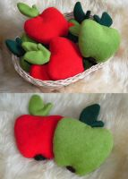 Little Apple-Heat Pillows by Gajia