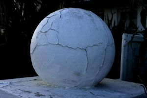 Cracked Globe by Clangston