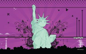 Statue of Liberty, Wide by angel69light