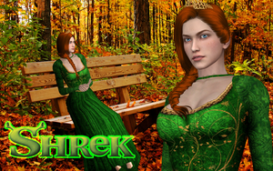 XNA - Shrek - Princess Fiona Download by DeathsFugitive
