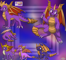 3 Spyros Combined by Lifefantasyx