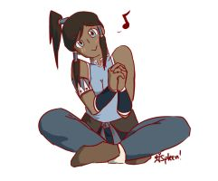 Korra by love-your-spleen